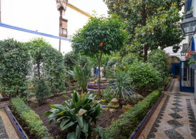 Patio Subdelegación de Defensa Plaza Ramón y Cajal 3