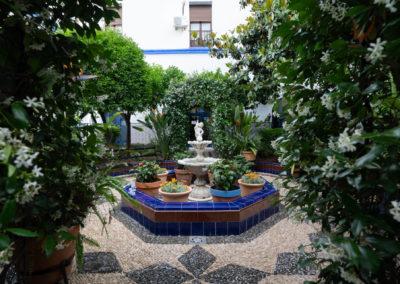 Patio Subdelegación de Defensa Plaza Ramón y Cajal 4